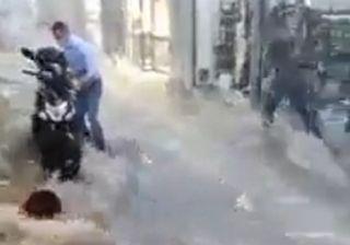Forte maltempo in Grecia, alluvioni lampo per la tempesta Ballos