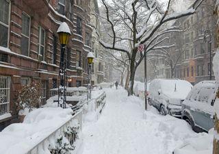 Forte nevão atingiu a América do Norte nos últimos dias
