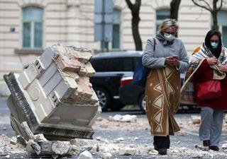 Forte terremoto atinge a capital da Croácia durante quarentena
