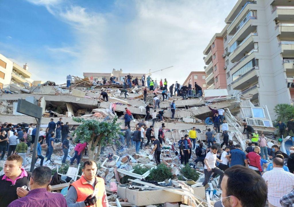 Terremoto Turquia e Grécia