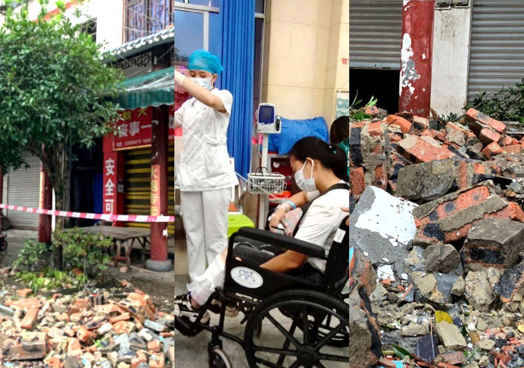 Terremoto na China