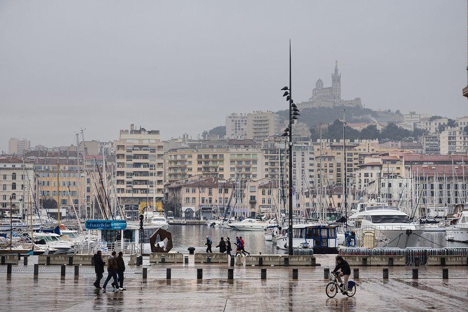 La cité phocéenne devrait enregistrer davantage de pluie ce mardi que sur les 4 derniers mois cumulés.