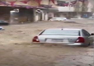Schwere Unwetter treffen den Westen Saudi-Arabiens!