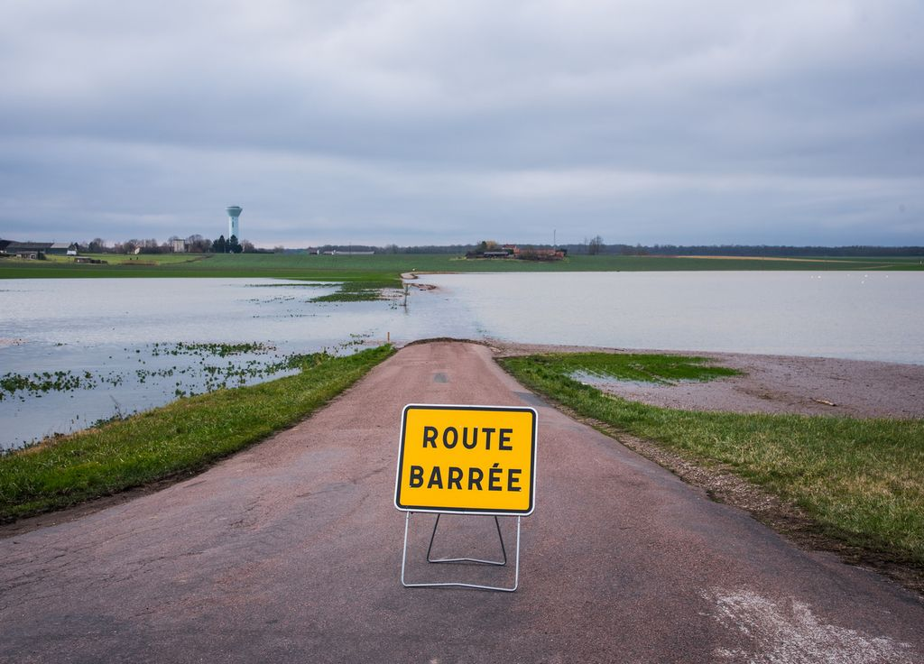 Inondations en France