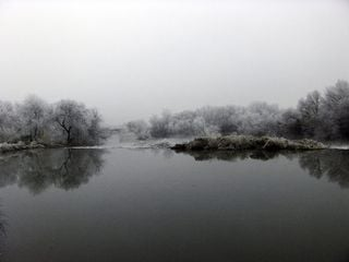 Frío gélido en Lodosa- Navarra