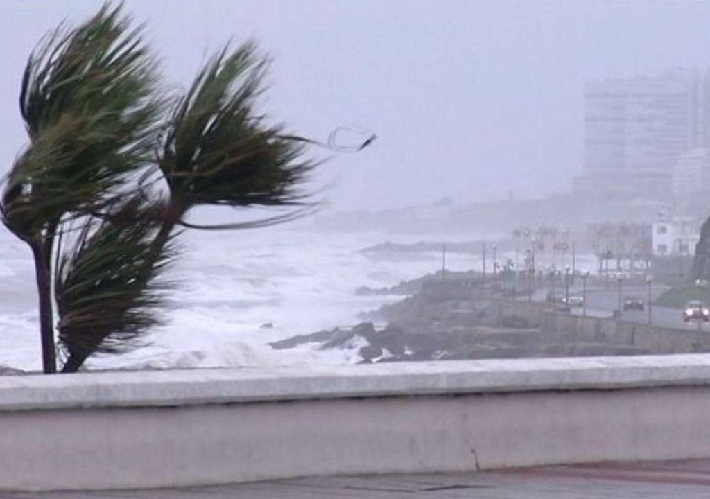 Mar del Plata alerta vientos frío