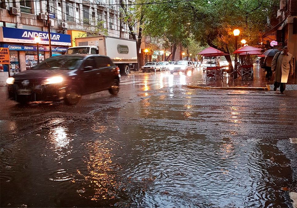 Mendoza lluvias Pronostico Argentina