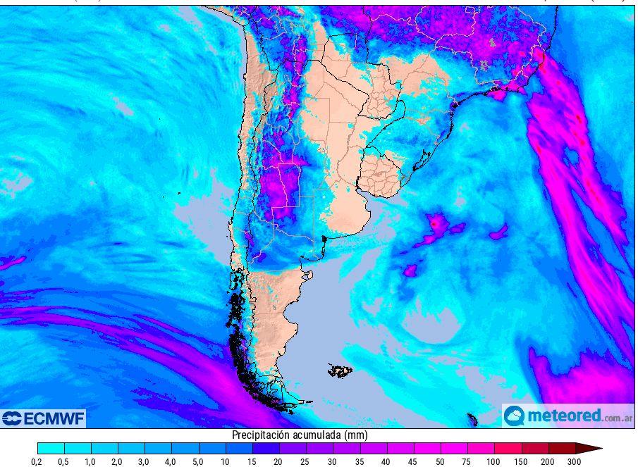 Pronostico Argentina Llluvias