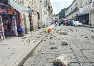 Fuerte sismo se registra en México