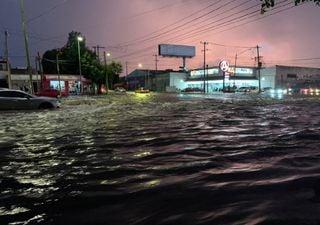 Fuerte tormenta provoca inundaciones en Jalisco