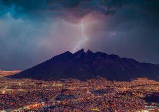 Fuerte tormenta se registra en Monterrey