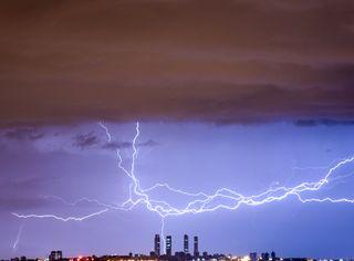 Riesgo de fuertes tormentas 'organizadas' este fin de semana