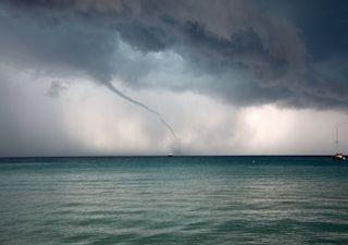 Huracán en el Mediterráneo sorprende a los meteorólogos