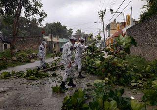 'Gamma' deja importantes lluvias en el sureste