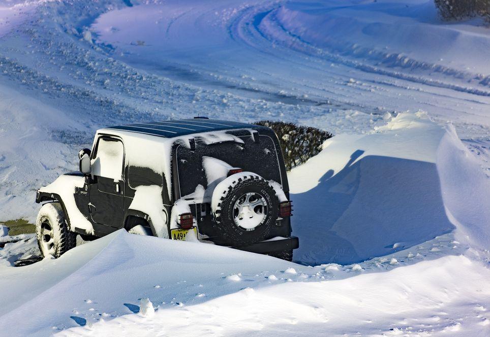 Schneeverwehungen machen Probleme
