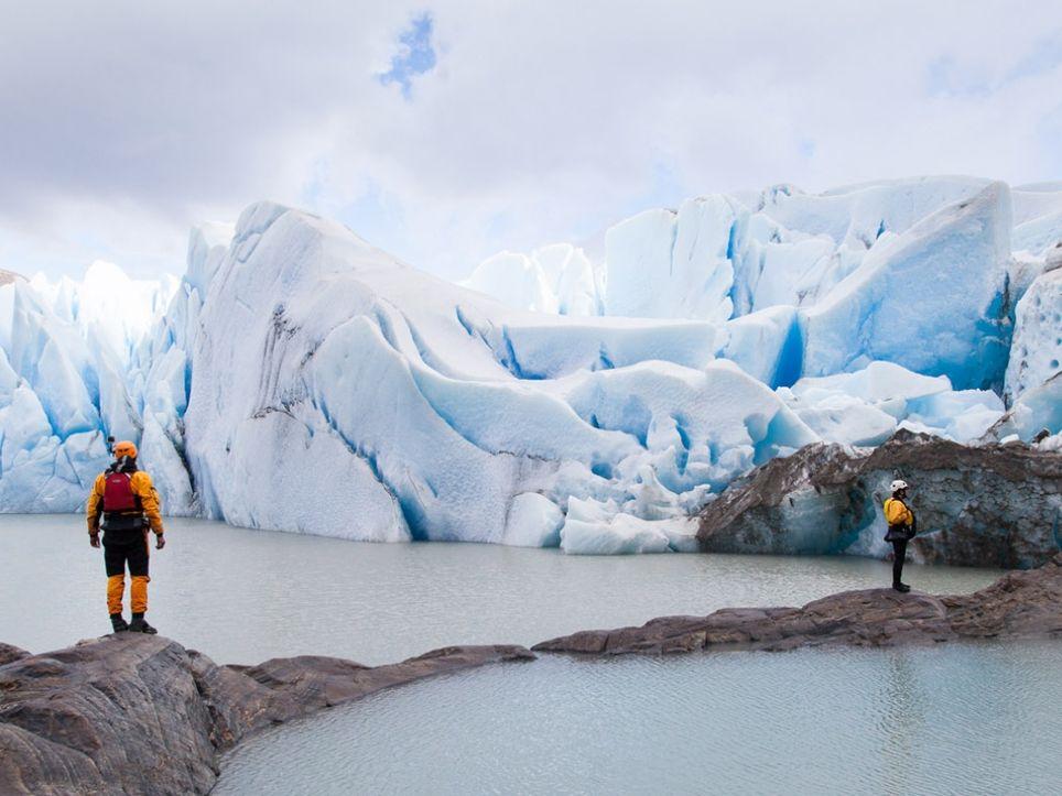 Campo de Hielo Sur glaciares Argentina Chile