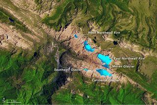 Glaciares en los trópicos, pero no por mucho tiempo