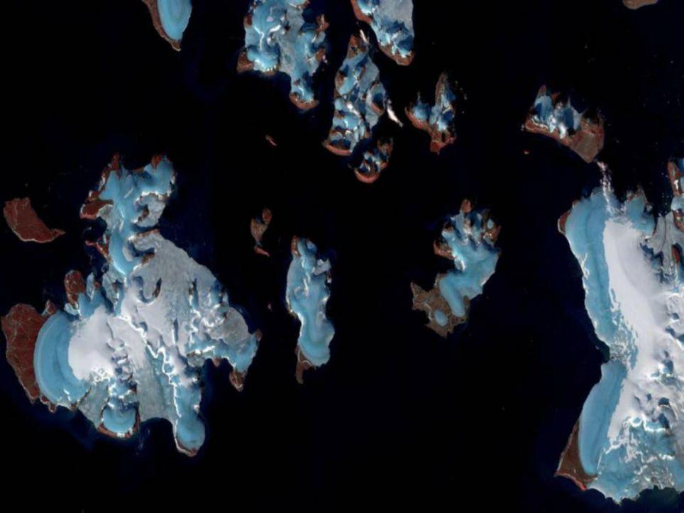 Gletscherschmelze russland
