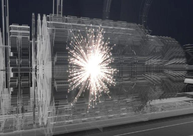 LHC collisions.