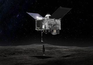 ¡Gran hazaña! La NASA logró posar una nave sobre el asteroide Bennu