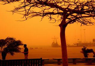 Grande tempestade de poeira cobre as Ilhas Canárias