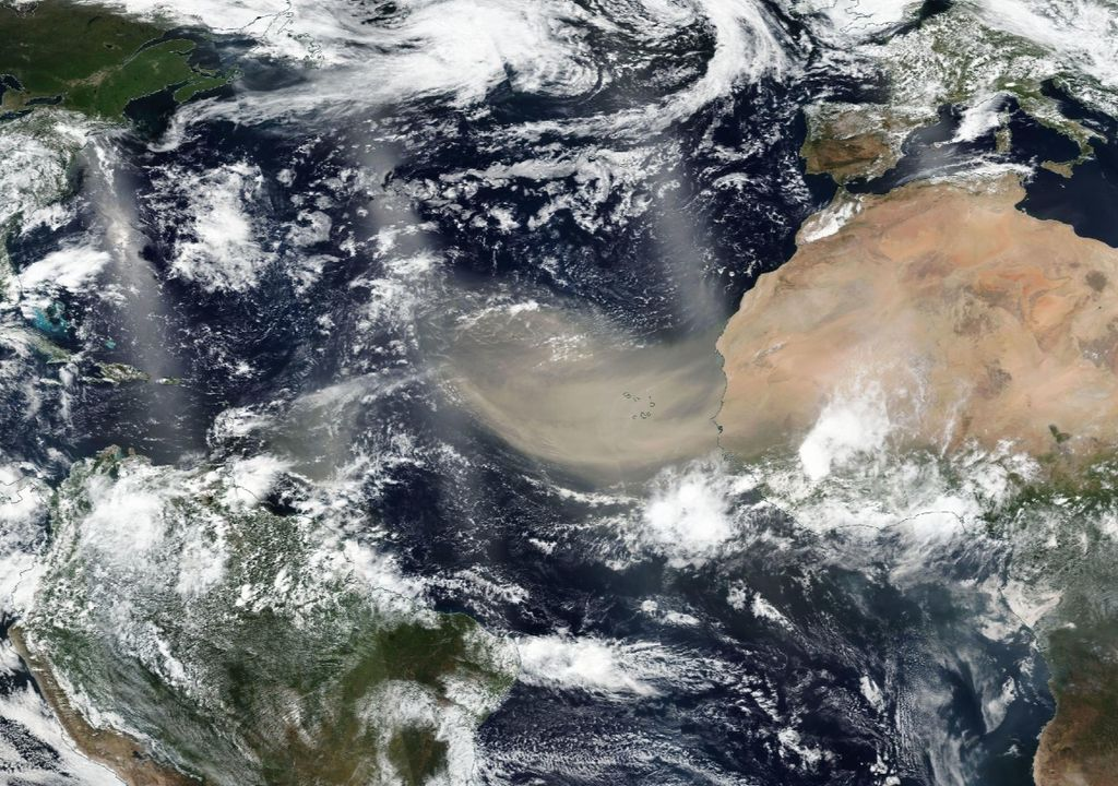 Saharan Dust, poeira do Saara, areias do Saara