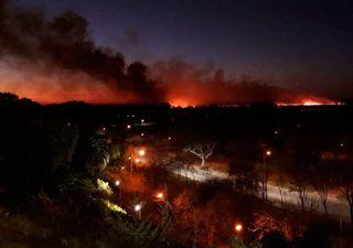 Graves incendios en el Delta del Paraná