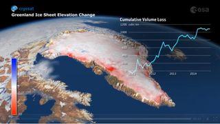 Groenlandia es el principal motor de la subida del nivel del mar