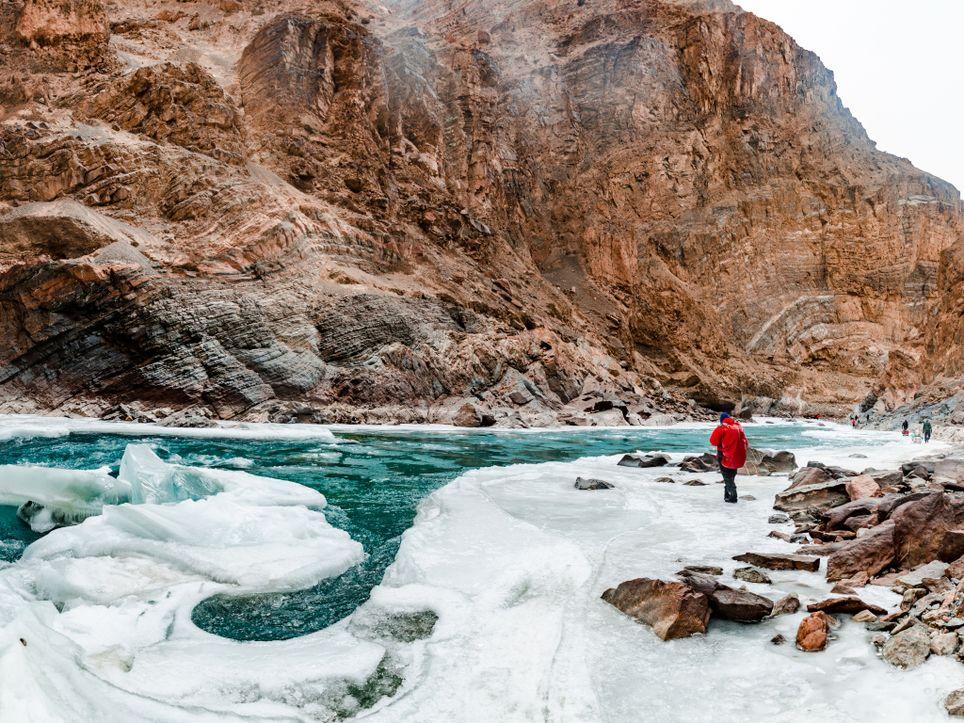 Groenladia registro el mayor deshielo. Temperaturas récord