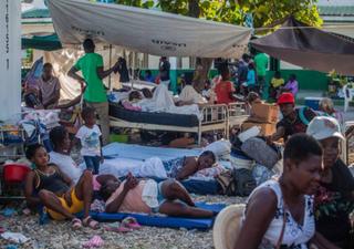 Haiti: tempestade tropical Grace atinge o país depois de um terramoto