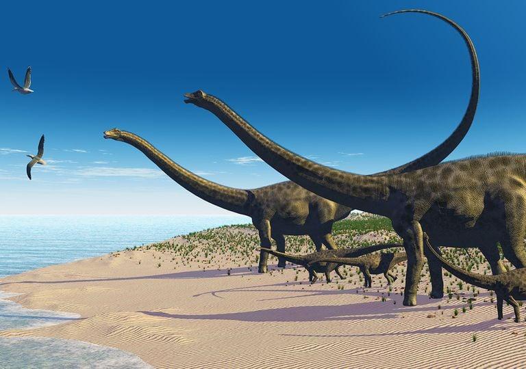 Titanosaurio gigante argentino