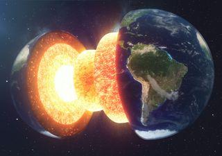 Encuentran estructuras gigantes cerca del núcleo de la Tierra