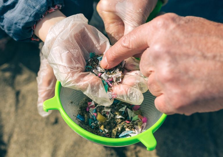 plastico, microplastico, contaminacion, lagos, patagonia