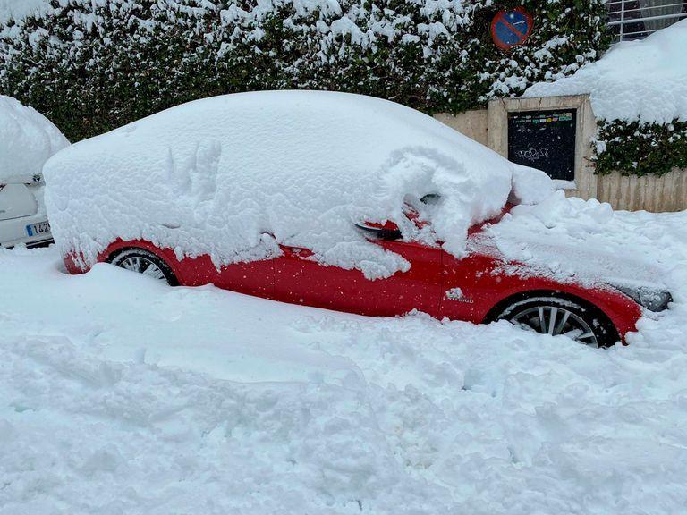 Nieve Madrid