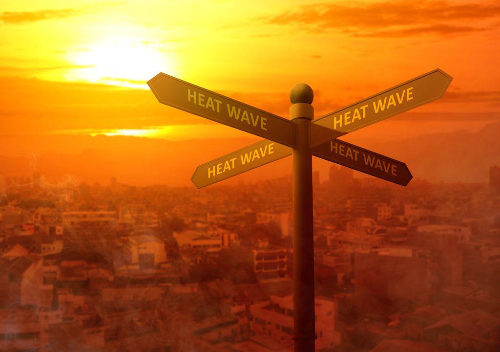 Heatwaves.