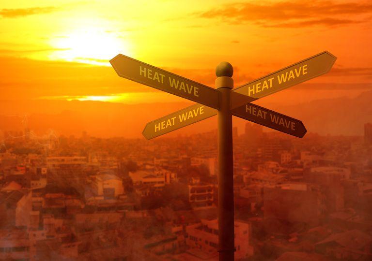 Olas de calor
