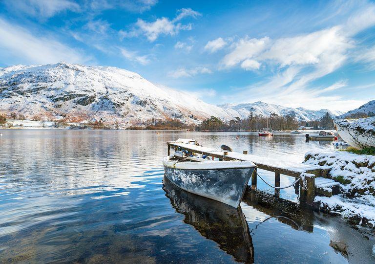 Snow Lake District.