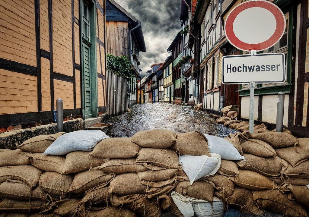 Starkregen bringt Hochwasser