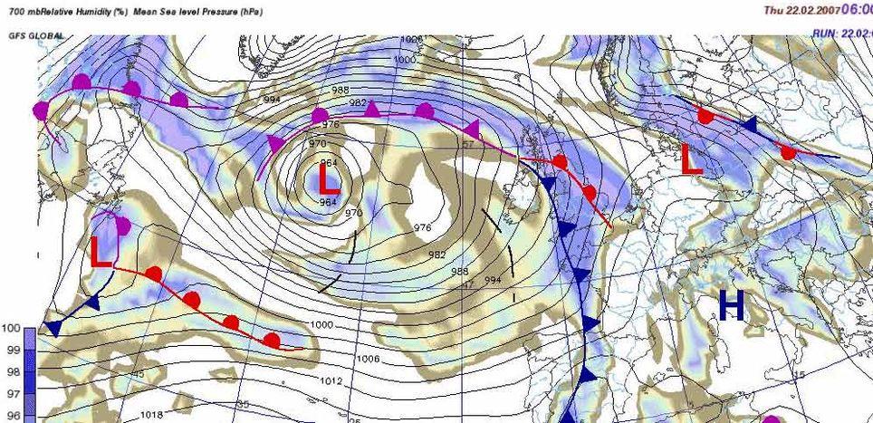 Herramientas Para El Trazado De Frentes Y Otras Anotaciones En Los Mapas Meteorológicos E Imágenes De Satélite