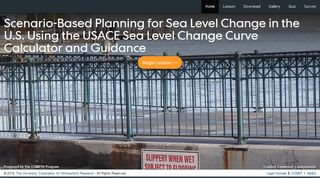Herramientas y conceptos esenciales para la planificación basada en escenarios en relación con el cambio en el nivel del mar