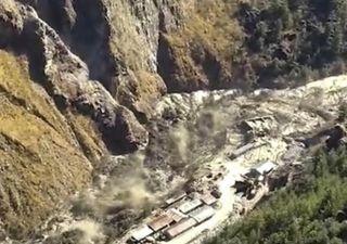 Muertos y desaparecidos por desprendimiento de glaciar en el Himalaya