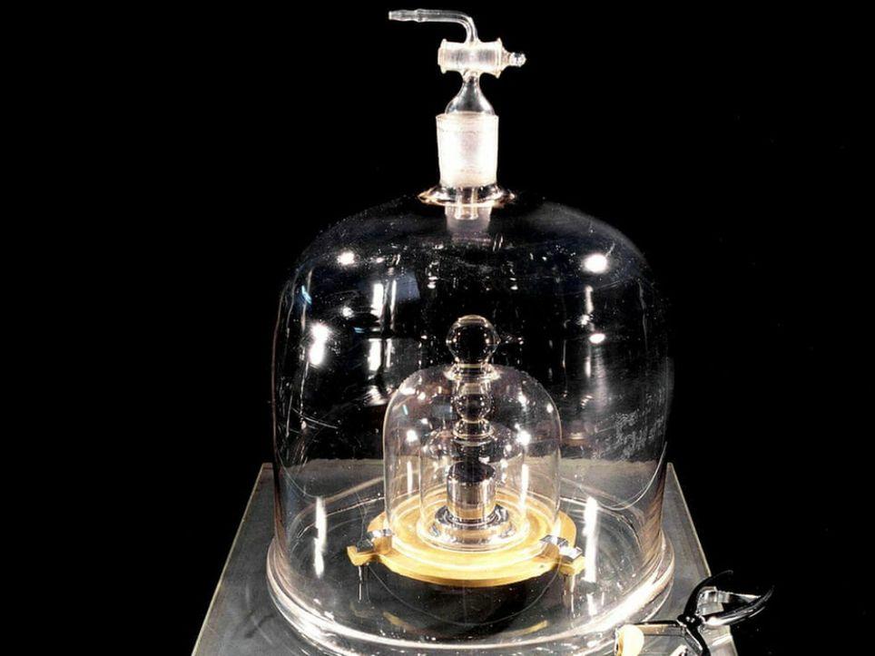 Peso kilo patrón Planck