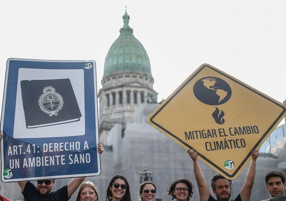 Ley lucha cambio climático congreso argentino