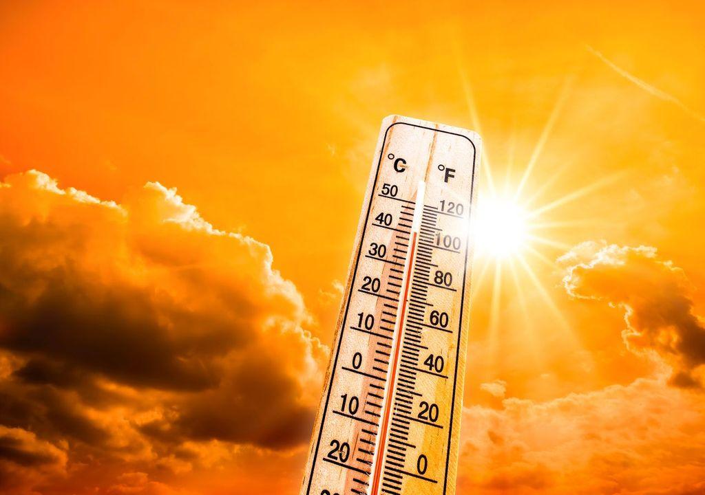 40-Grad-Hitzewalze