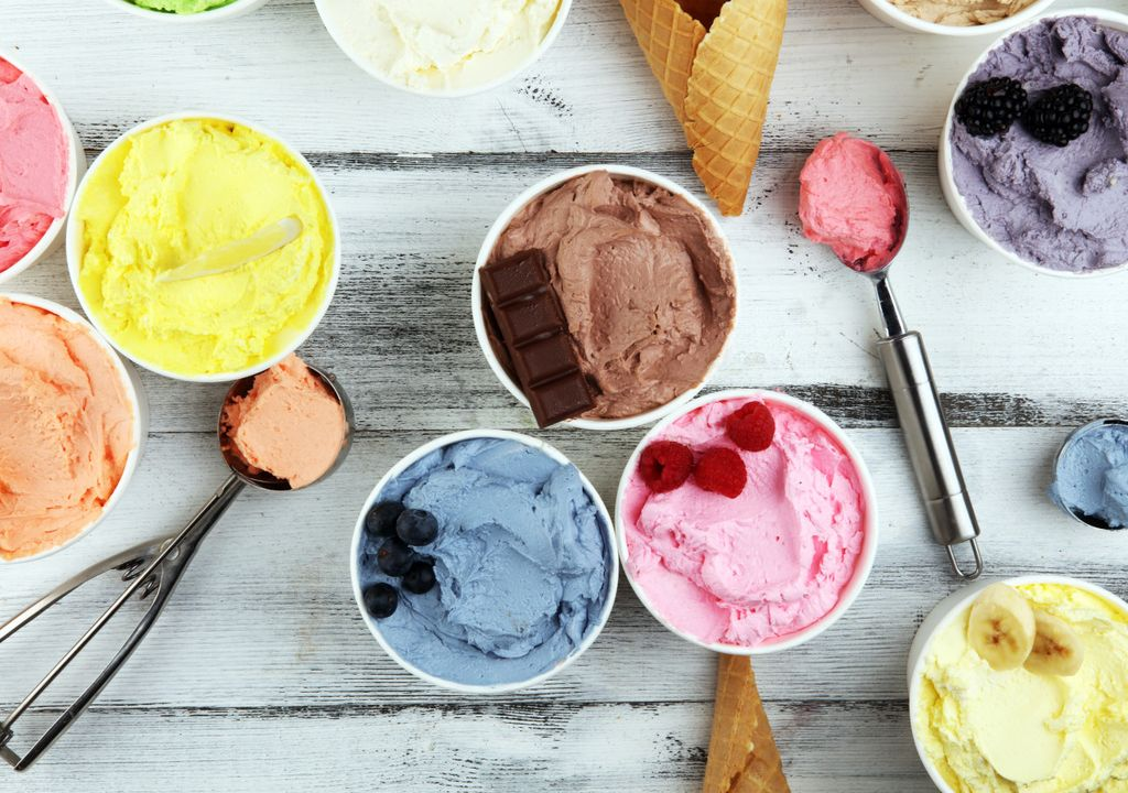 Ice-cream.