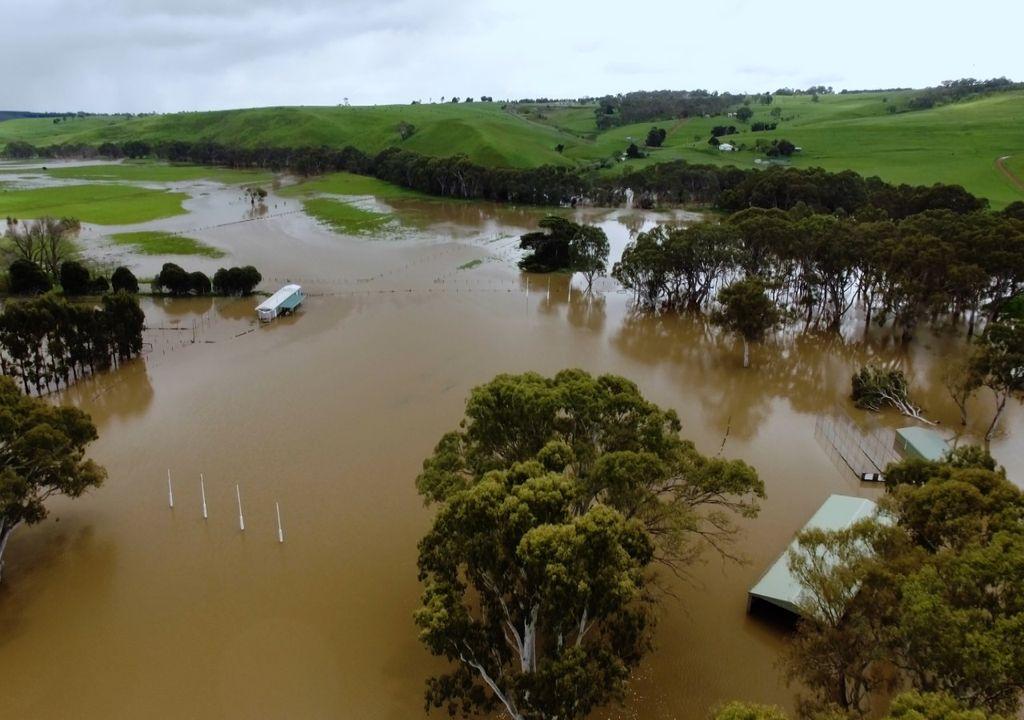 flooding Australia