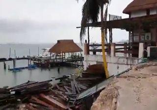Hurrikan Grace: Strände in Cancun am stärksten betroffen!