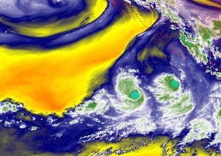 Huracán Hilda y Depresión Tropical 10-E en el Pacífico