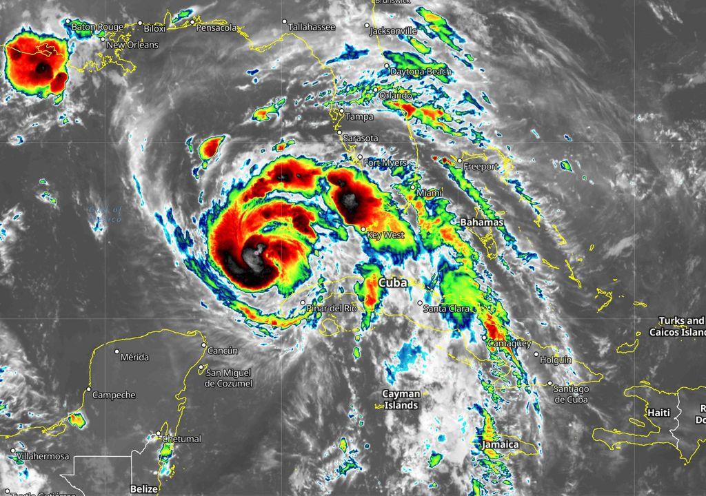 Hurricane Ida Huracán
