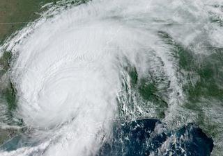 Huracán Laura superó al emblemático Katrina